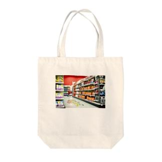 Kailua Supermarket Tote bags