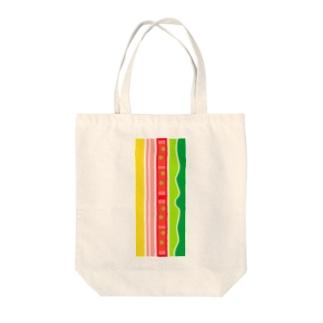 ハムサンド Tote bags