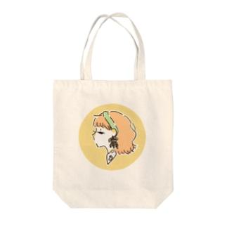 おれんじ Tote bags