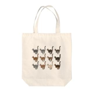 Tabbies Cat(集合) Tote bags