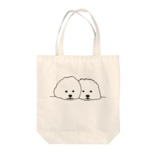 mamegoma02 Tote bags
