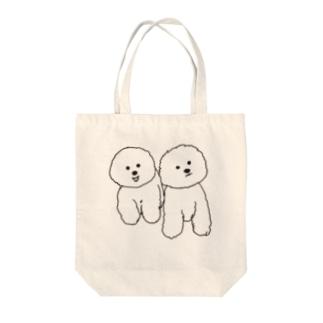 mamegoma01 Tote bags