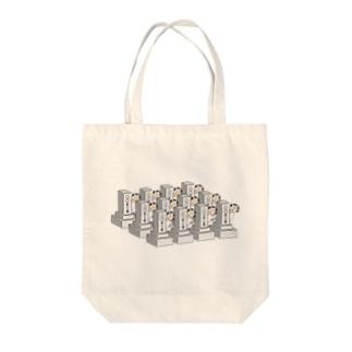 ご先祖様たち Tote bags