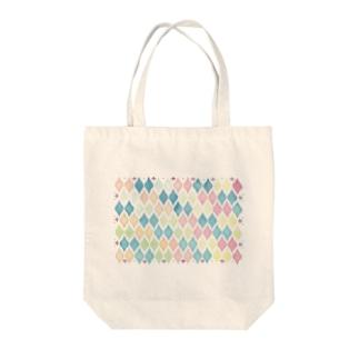 水彩モロッカンタイル風 Tote Bag