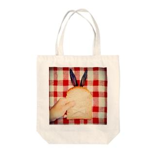 ぱん Tote bags
