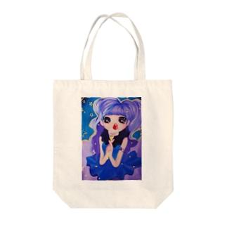 まじかる Tote bags