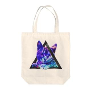 SPACECAT Tote bags