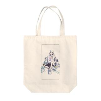 Cool girl prototype  Tote bags