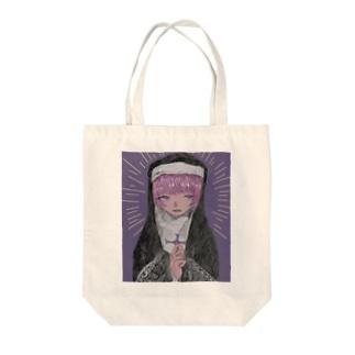 聖域ちゃん Tote bags