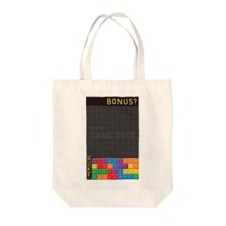 K. and His DesignのNUKE(=原子力)に対するアイロニー Tote bags