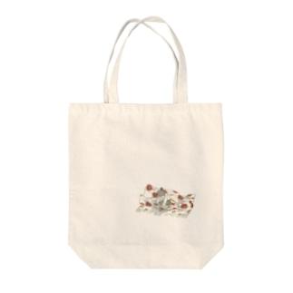 ミルキー子 Tote bags
