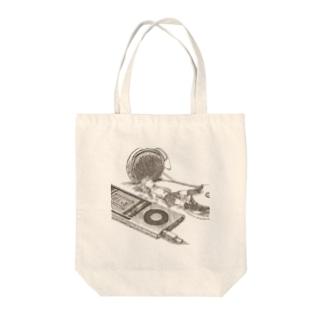 スピーカー Tote bags