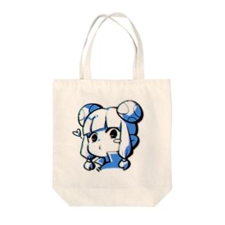 キノコさん Tote bags