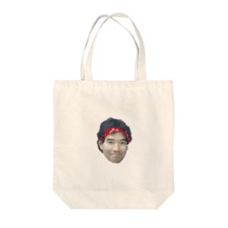 池崎さん画質不良ver Tote bags
