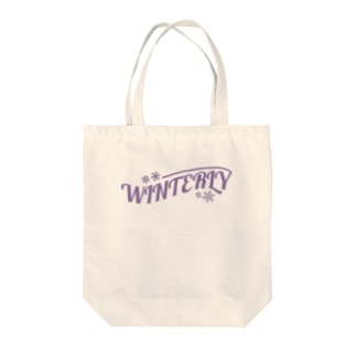 WINTERLY Tote bags
