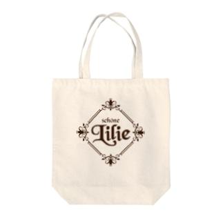 ユリ-Lilie- Tote bags