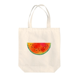 THE・スイカ Tote bags