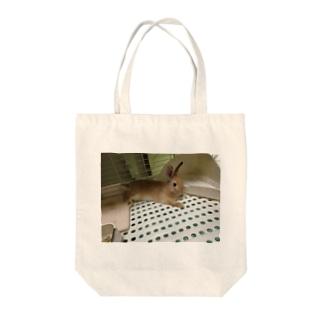 マロン Tote bags