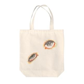 僻む瞳 Tote bags