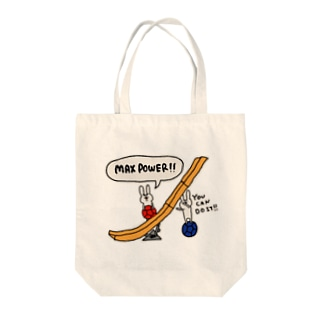 【ボッチャ】MAX POWER Tote bags