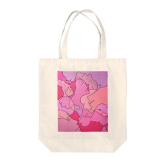 アナタノヨコガオ Tote bags