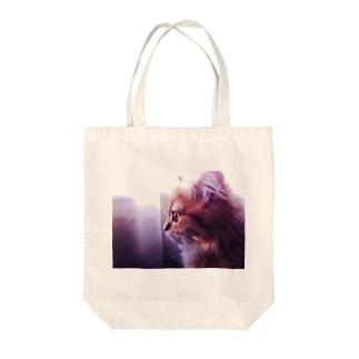 montenのもなか(ベイビー) Tote bags