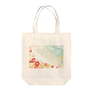 難波津に Tote bags