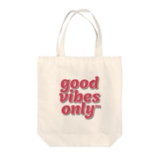 𝐠𝐨𝐨𝐝 𝐯𝐢𝐛𝐞𝐬 𝐨𝐧𝐥𝐲 Tote bags