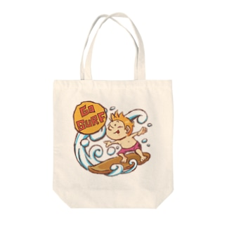 GO SURF Tote bags