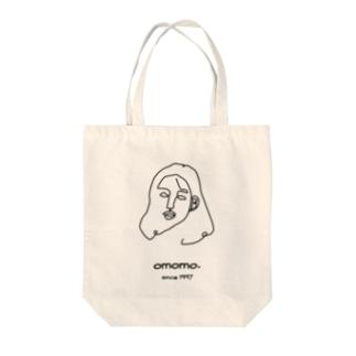 woman. Tote bags