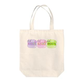 マカニャン Tote bags