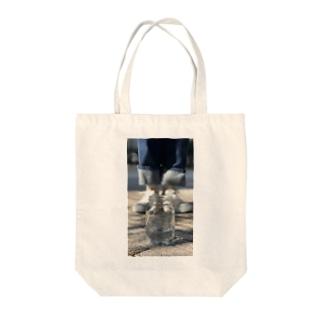 ガラス瓶 Tote bags