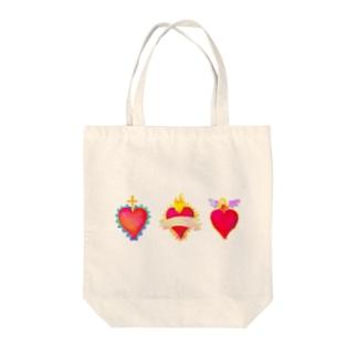 メキシコのハートモチーフ♥️ Tote bags