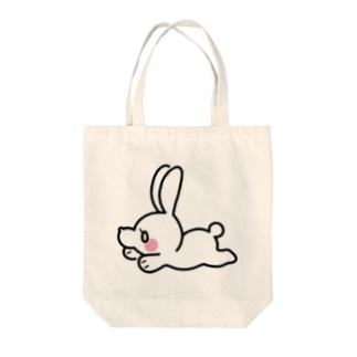 べりうささん Tote bags