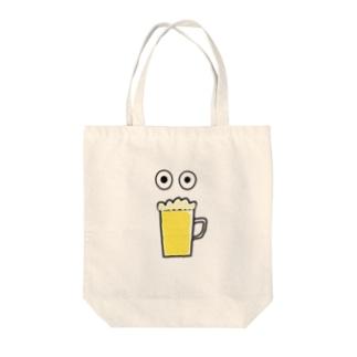 ビールトリ Tote bags