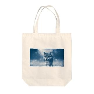 ウルフカット Tote bags