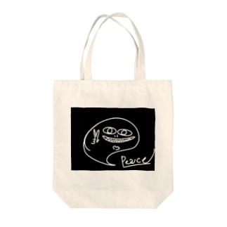 イツモミテルヨ/Guardian Tote bags