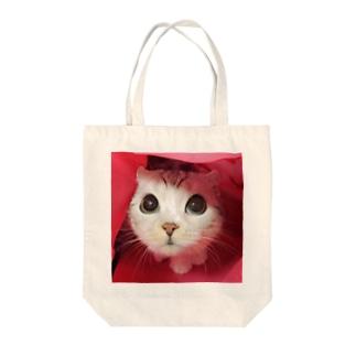 ドアップ Tote bags