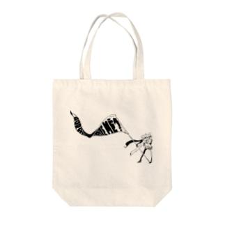 よく風の吹く Tote bags