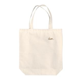 シロチ Tote bags