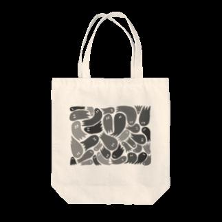 wakame.monsterのおばグレー Tote bags