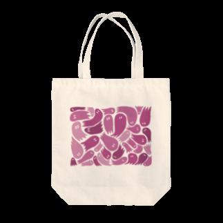wakame.monsterのおばピンク Tote bags