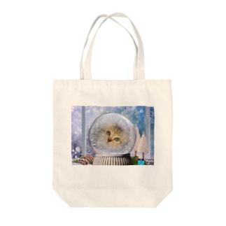 ドーム猫 Tote bags