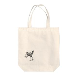 てどり(初期ver) Tote bags