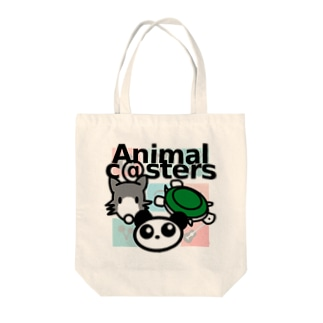 Animal c@sters ファンシーデザイン Tote bags
