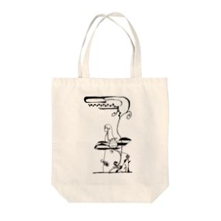 いちごもどきの精霊 Tote bags