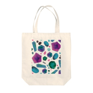 colour crystal Tote bags