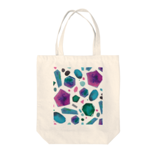 hugging love +《ハギング ラブ プラス》のcolour crystal Tote bags