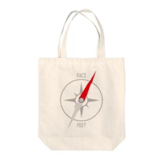 コンパス Tote bags