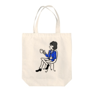 ふうさんブレーク Tote bags